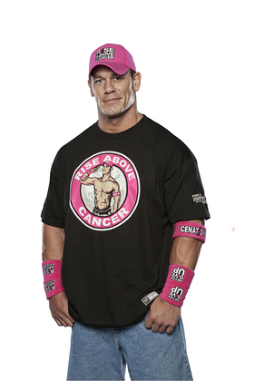 WWE Superstar John Cena Supports Susan G. Komen for the Cure