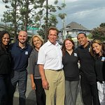 Arnold Schwarzenegger Visits After-School All-Stars Programs
