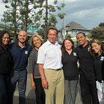 Arnold Schwarzenegger Visits After-School All-Stars Programs