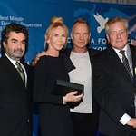 Sting And Trudie Styler Awarded Green Oscar For Conservation Work