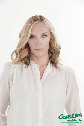 Award-winning actress Toni Collette has joined the fight against extreme hunger with Concern Worldwide US