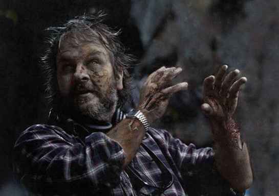 Peter Jackson as a Zombie for Red Cross
