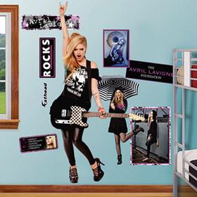 Avril Lavigne Fathead Sticker