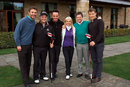 Jonathan Wilkes, Mikey Graham, Ant McPartlin, Trudi Beswick, Declan Donnelly, Ben Shephard