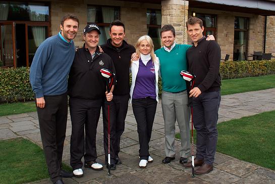 Jonathan Wilkes, Mikey Graham, Ant McPartlin, Trudi Beswick, Declan Donnelly, Ben Shephard
