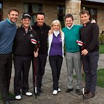 Stars Play Charity Golf For Caudwell Children