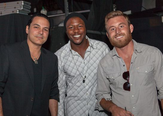 Fred Coury, Edwin Hodge and Justin Hopkins