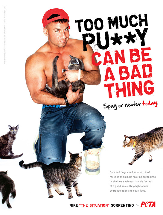 The Situation PETA Ad