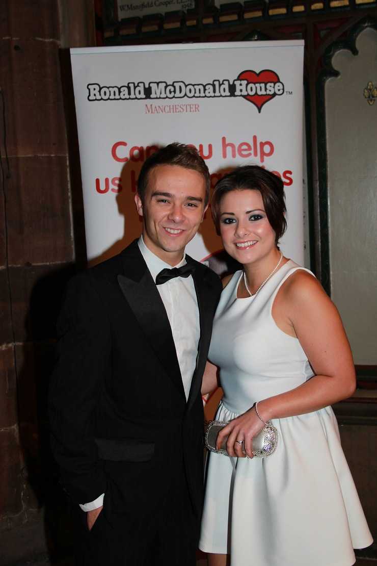 Jack P Shepherd who plays David Platt with girlfriend Lauren Shipley