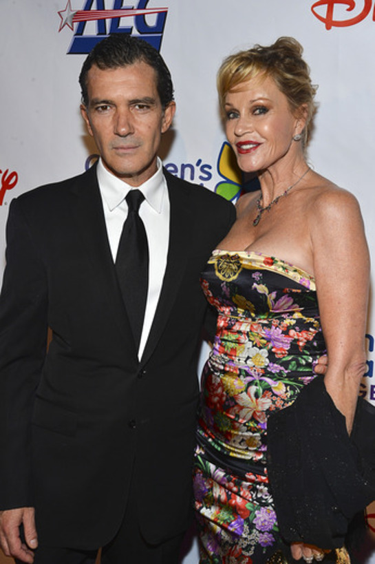 Antonio Banderas and Actress Melanie Griffith attend the Children's Hospital Los Angeles Gala: Noche de Ninos