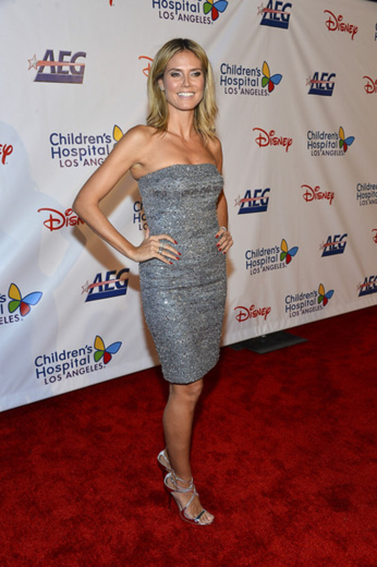 Heidi Klum attends the Children's Hospital Los Angeles Gala: Noche de Ninos