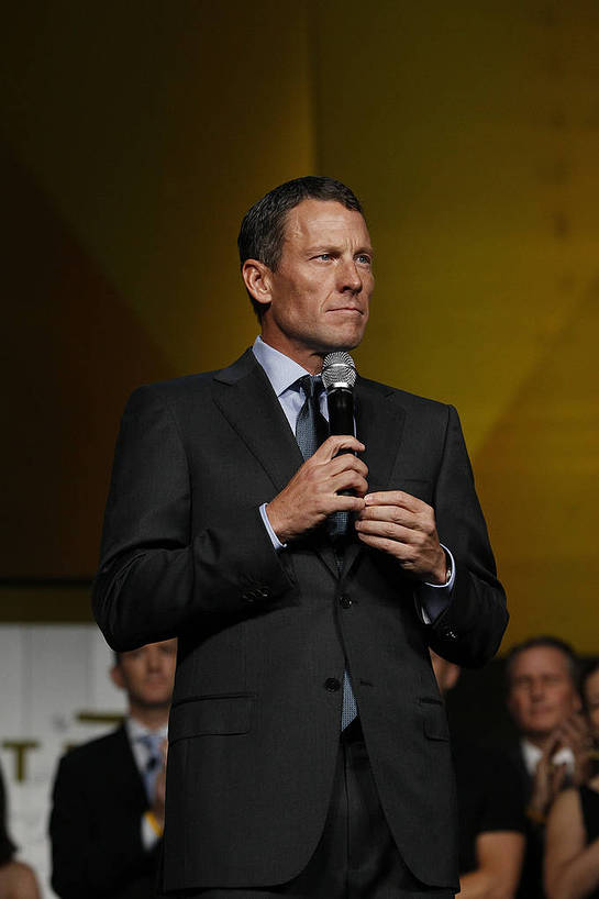 Lance Armstrong addresses 1500 supporters at LIVESTRONG's 15th anniversary