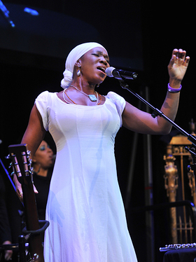 India.Arie at Lupus Foundation of America Event
