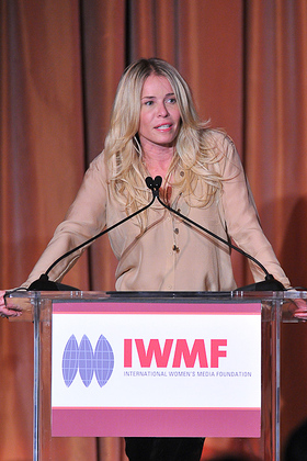 Chelsea Handler at IWMF Courage in Journalism Awards