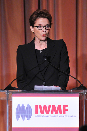 Annette Bening at IWMF Courage in Journalism Awards