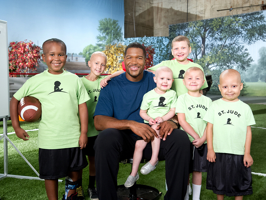 Michael Strahan St Jude Thanks and Giving