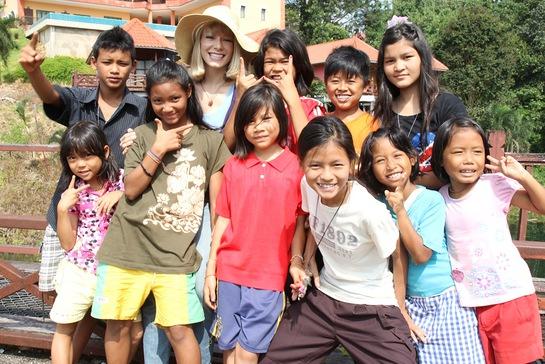 Stephanie Drapeau Visits Baan Unrak In Thailand