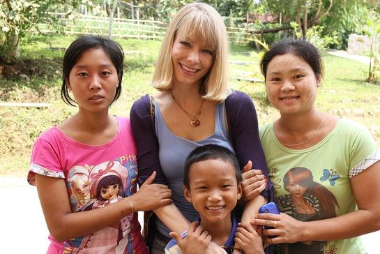 Stephanie Drapeau In Thailand