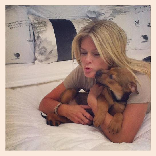 Rachel Hunter Fronts SPCA Paws Appeal Week With Mollie