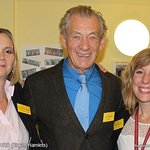 Sir Ian McKellen Attends Meet-And-Greet Event For Charity