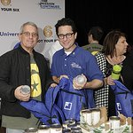 Photos: JJ Abrams Helps Fill Backpacks At Charity Event