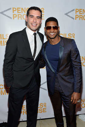 Adam Braun and Usher