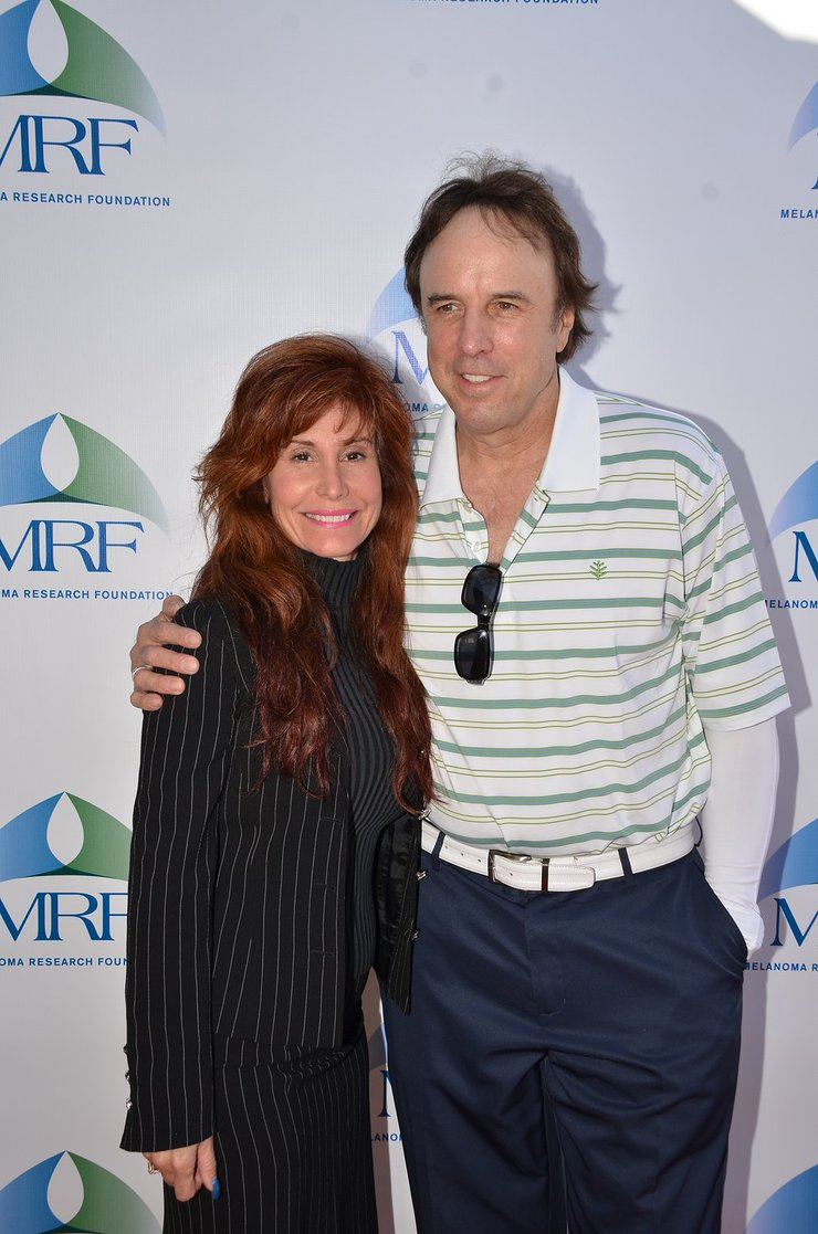 Suzanne DeLaurentiis and Kevin Nealon