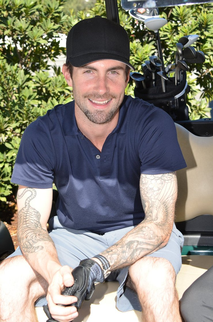 Adam Levine at Celebrity Golf Classic
