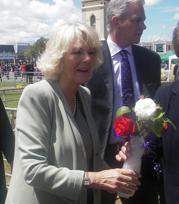 The Duchess of Cornwall In Feilding