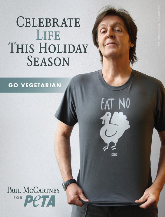 Paul McCartney's New PETA Ad
