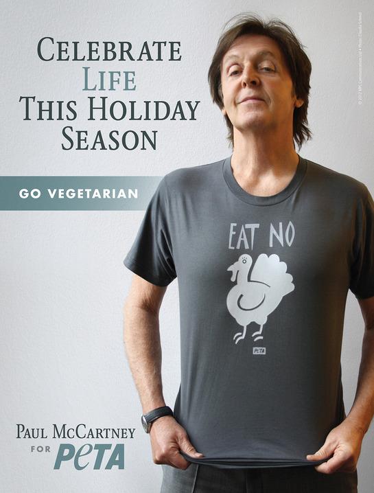 Paul McCartney's New PETA Ad
