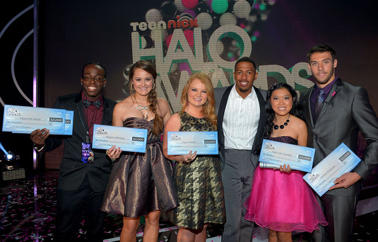 2012 HALO Award Honorees with Nick Cannon