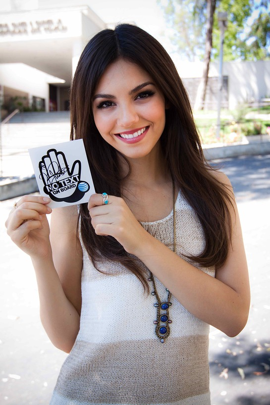 Victoria Justice Fronts PSA