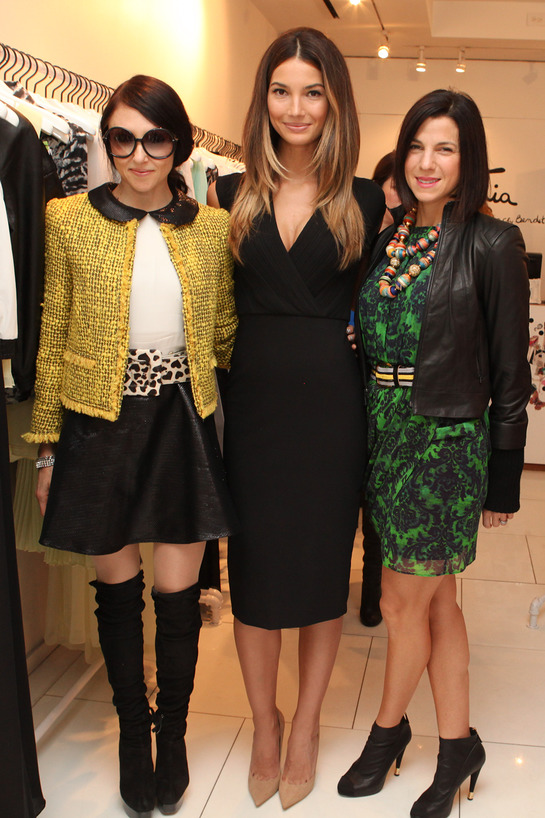 Jessica Seinfeld, Lily Aldridge and Stacey Bendet kicked off the 3rd annual holiday toy drive to benefit Baby Buggy at alike + olivia store in NYC