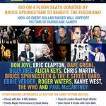 Bruce Springsteen Donates 12.12.12 Tickets To Charity Auction