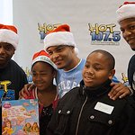 Rapper T.I. Brings Christmas Cheer To Children's Hospital
