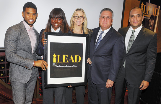 Usher's New Look and Accenture Join Forces to Create The Next Generation of Global Leaders Through iLEAD
