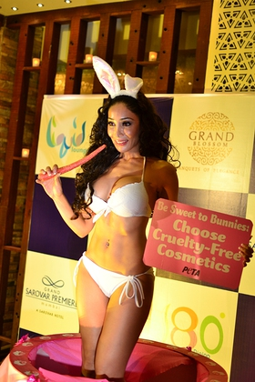 Sofia Hayat - Be Sweet To Bunnies For PETA