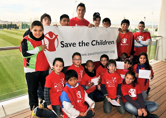 In his new position, the star forward and captain of the Portuguese National team will use his voice and visibility to fight child hunger and obesity, and promote physical activity and healthy eating in more than 120 countries