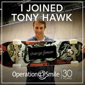 Tony Hawk and Operation Smile