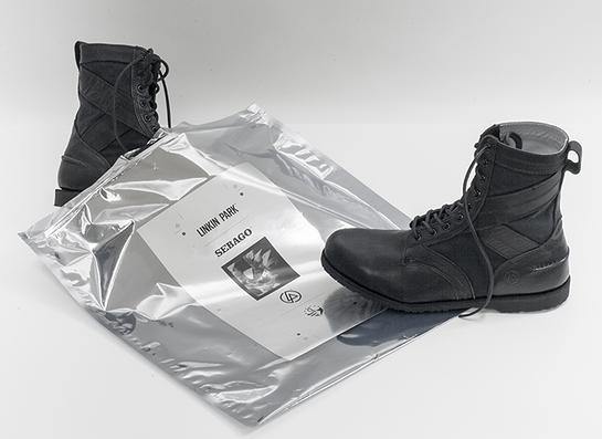 Linkin Park and Sebago Boots