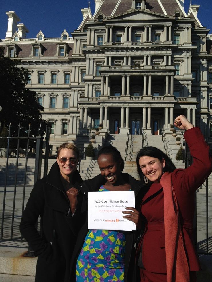 Robin Wright Congo petition