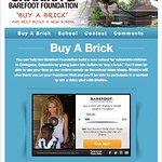 Shakira Launches Buy-A-Brick Campaign For Charity