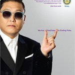 Psy Supports Polio Campaign