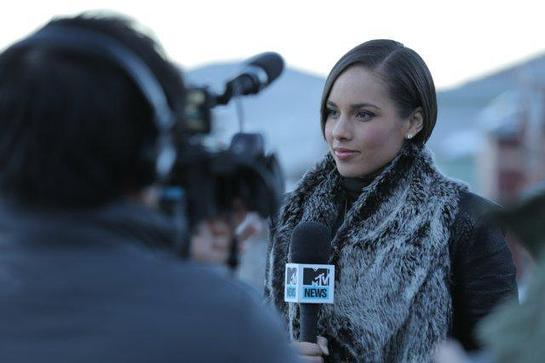 Alicia Keys at Sundance
