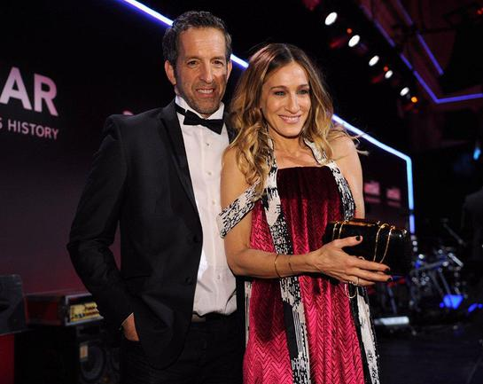 Sarah Jessica Parker and Kenneth Cole