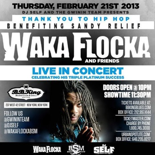 Waka Flocka and Friends In Concert