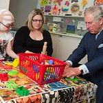 Prince Charles Visits Great Ormond Street Hospital