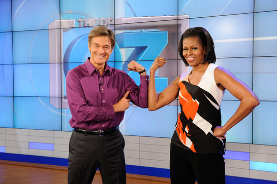 Michelle Obama will appear on The Dr. Oz Show February 28.