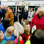 Prince Charles Visits Flood Victims In Devon